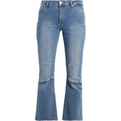 Boyfriendy damskie: 2ndOne JANELLE Jeansy Bootcut raw light stone blue