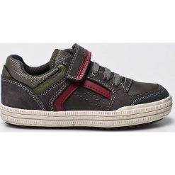 Geox - Tenisówki dziecięce. Szare buty sportowe chłopięce Geox, z gumy. W wyprzedaży za 169,90 zł.