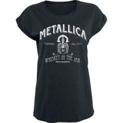 Metallica Whiskey In the Jar Koszulka damska czarny. Czarne bluzki asymetryczne Metallica, xxl. Za 94,90 zł.