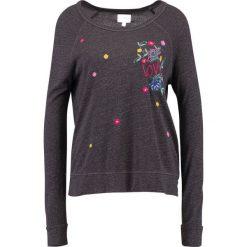 Swetry klasyczne damskie: Sundry CROP LOVE Sweter charcoal