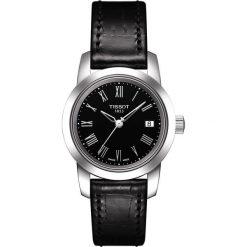 PROMOCJA ZEGAREK TISSOT T-CLASSIC DREAM T033.210.16.053.00. Czarne zegarki damskie TISSOT, ze stali. W wyprzedaży za 572,01 zł.