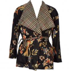 Płaszcz w kolorze czarno-żółtym. Czarne płaszcze damskie marki 101 idées, m. W wyprzedaży za 181,95 zł.