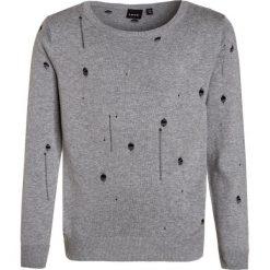 LMTD NITSAMMY Sweter grey melange. Szare swetry chłopięce LMTD, z bawełny. W wyprzedaży za 135,20 zł.