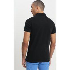 Koszulki polo: Tommy Jeans FINE GARMENT DYE  Koszulka polo black