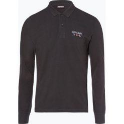 Napapijri - Męska koszulka polo – Erthow, szary. Szare koszulki polo marki Napapijri, l, z materiału, z kapturem. Za 249,95 zł.
