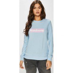Tally Weijl - Bluza. Szare bluzy z nadrukiem damskie marki TALLY WEIJL, l, z bawełny, bez kaptura. Za 39,90 zł.
