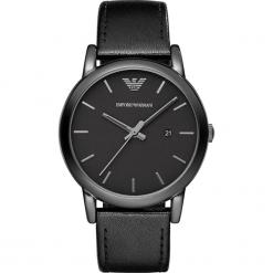 Zegarek EMPORIO ARMANI - Luigi AR1732 Black/Black. Czarne zegarki męskie Emporio Armani. Za 950,00 zł.