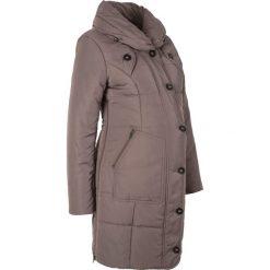 Płaszcze damskie: Krótki płaszcz pikowany ciążowy bonprix średni brąz
