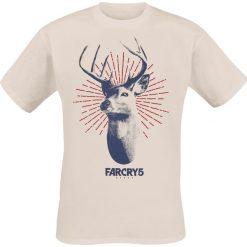 T-shirty męskie z nadrukiem: Far Cry 5 – Deer Logo T-Shirt piaskowy