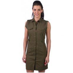 Pepe Jeans Sukienka Damska Irma Xs Khaki. Brązowe sukienki marki Pepe Jeans, xs, z jeansu. W wyprzedaży za 249,00 zł.