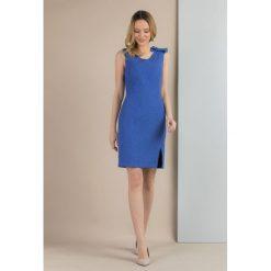 Sukienki: Sukienka z drobnym wzorem