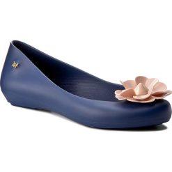 Baleriny ZAXY - Nature Fem 82256 Granat/Róż 52227 Y285015. Niebieskie baleriny damskie Zaxy, z tworzywa sztucznego, na płaskiej podeszwie. W wyprzedaży za 119,00 zł.