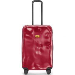 Walizka Icon średnia matowa czerwona. Szare walizki marki Crash Baggage, z materiału. Za 1040,00 zł.