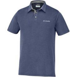 Columbia Koszulka Męska Polo Nelson Point Polo Collegiate Navy, L. Niebieskie koszulki polo marki Oakley, na lato, z bawełny, eleganckie. W wyprzedaży za 155,00 zł.