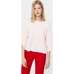 Mango - Sweter Lala. Niebieskie swetry klasyczne damskie marki DOMYOS, z elastanu, street, z okrągłym kołnierzem. W wyprzedaży za 69,90 zł.