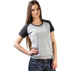 Topy sportowe damskie: Bluzka w kolorze szaro-czarnym