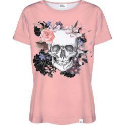 Colour Pleasure Koszulka damska CP-030 230 brzoskwiniowa r. XXXL/XXXXL. Pomarańczowe bluzki damskie marki Colour pleasure. Za 70,35 zł.