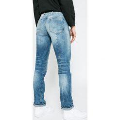 G-Star Raw - Jeansy Lanc 3D. Niebieskie proste jeansy damskie marki G-Star RAW. W wyprzedaży za 399,90 zł.