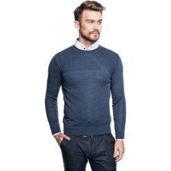 Sweter roger półgolf niebieski 0001. Niebieskie swetry klasyczne męskie Recman, m, z golfem. Za 219,00 zł.