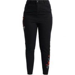 New Look Curves COSTA RICA  Jeans Skinny Fit black. Czarne jeansy damskie New Look Curves, z bawełny. Za 189,00 zł.