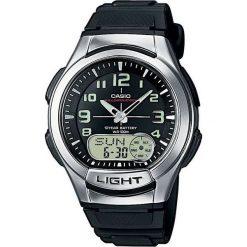 Zegarek Casio Zegarek męski AQ-180W -1BV. Czarne zegarki męskie CASIO. Za 134,50 zł.