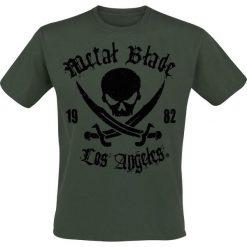 Metal Blade Pirate Logo T-Shirt zielony. Zielone t-shirty męskie Metal Blade, xxl, z napisami. Za 89,90 zł.