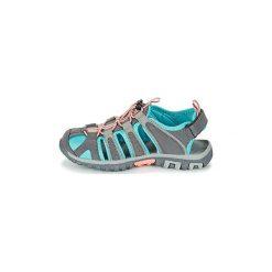 Sandały sportowe Dziecko  Hi-Tec  SHORE KID. Szare buty sportowe chłopięce marki Hi-tec. Za 143,20 zł.