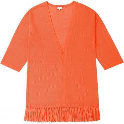Kardigan kaszmirowy w kolorze pomarańczowym. Brązowe kardigany damskie marki Ateliers de la Maille, z kaszmiru. W wyprzedaży za 591,95 zł.