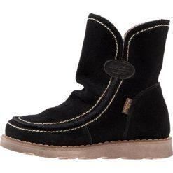 Froddo Śniegowce black. Czarne buty zimowe damskie Froddo, z materiału. W wyprzedaży za 226,85 zł.