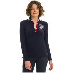 Galvanni Koszulka Polo Damska Reunion Xl Ciemny Niebieski. Niebieskie bluzki z odkrytymi ramionami GALVANNI, xl, polo. W wyprzedaży za 279,00 zł.