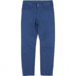 Spodnie. Niebieskie chinosy chłopięce HIGH 5, z bawełny. Za 59,90 zł.