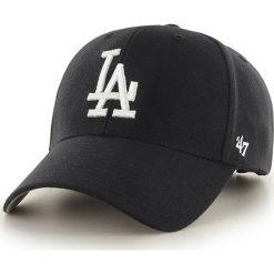 47brand - Czapka Los Angeles Dodgers. Czarne czapki z daszkiem męskie 47brand. Za 79,90 zł.