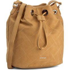 Torebka MONNARI - BAG1580-003 Orange. Brązowe torebki worki Monnari, ze skóry ekologicznej. W wyprzedaży za 119,00 zł.