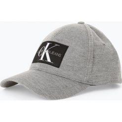 Czapki damskie: Calvin Klein Jeans - Damska czapka z daszkiem, szary