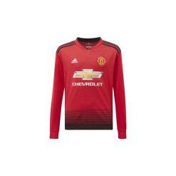 T-shirty z długim rękawem Dziecko adidas  Koszulka podstawowa Manchester United. Czerwone t-shirty chłopięce z długim rękawem Adidas. Za 299,00 zł.