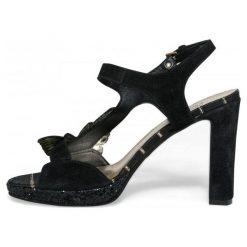 Desigual Sandały Damskie Marylin Butterfly 36 Czarny. Czarne sandały damskie Desigual. W wyprzedaży za 317,00 zł.