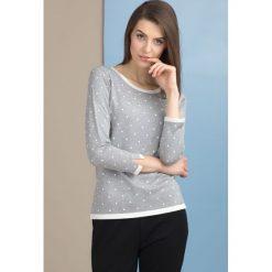 Swetry klasyczne damskie: Sweter w kropeczki