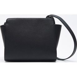Shopper bag damskie: Torebka typu shopper - Czarny