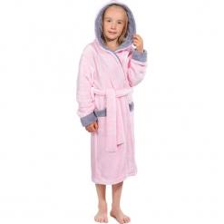 Dziewczęcy szlafrok Lola. Różowe stroje dwuczęściowe dziewczęce Astratex. Za 111,99 zł.