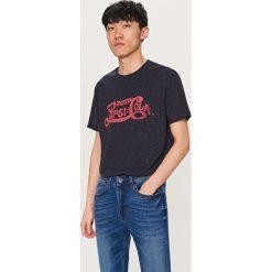 T-shirty męskie: T-shirt z nadrukiem pepsi-cola – Granatowy