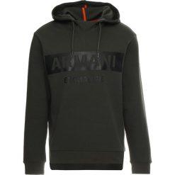 Armani Exchange Bluza z kapturem climbing ivy. Zielone bluzy męskie rozpinane Armani Exchange, m, z bawełny, z kapturem. Za 569,00 zł.