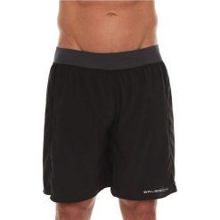 Spodenki sportowe męskie: Brubeck Spodenki męskie Athletic Multifunction czarne r. M (LB10130)