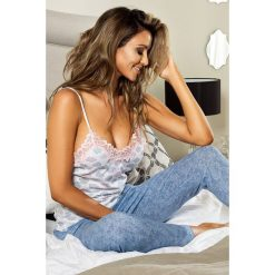 Piżamy damskie: Damska piżama Rainy Clouds