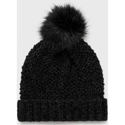 Medicine - Czapka Hand Made. Czarne czapki zimowe damskie marki INOVIK, z elastanu. Za 39,90 zł.