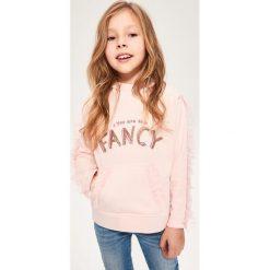 Odzież dziecięca: Bluza z tiulowymi falbankami - Różowy