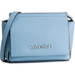 Torebka CALVIN KLEIN - Stitch Flap Crossbody K60K604828 460. Niebieskie listonoszki damskie Calvin Klein, ze skóry ekologicznej. Za 349,00 zł.