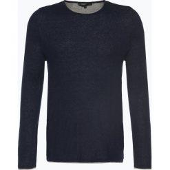 Swetry męskie: Drykorn – Sweter męski – Domino, niebieski