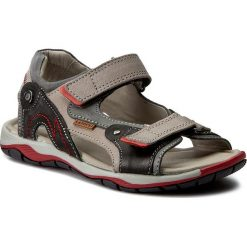 Sandały LASOCKI YOUNG - CI12-2625-01 Szary/Czarny. Szare sandały męskie skórzane marki Lasocki Young. Za 89,99 zł.