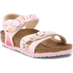 Sandały dziewczęce: Sandały BIRKENSTOCK – Rio Kids 1008670 Disney Princess Rose