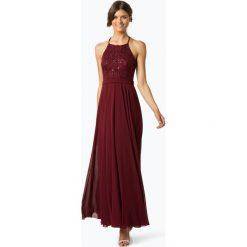 Marie Lund - Damska sukienka wieczorowa, czerwony. Czerwone sukienki hiszpanki Marie Lund, w koronkowe wzory, z koronki, wizytowe. Za 699,95 zł.